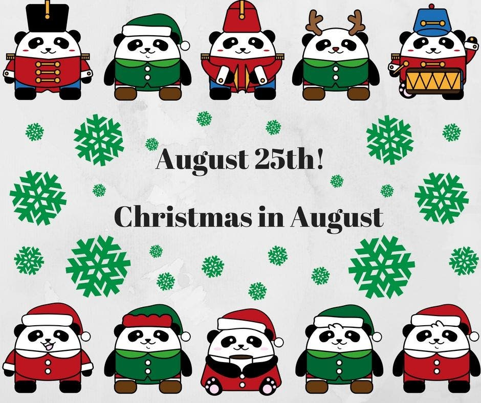 Christmas In August Clipart.Aug 25 Chelmsford Farmers Market Christmas In August