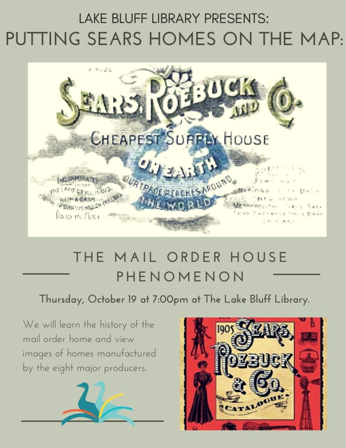 Oct 19 | Putting Sears Homes on the Map: The Mail Order House