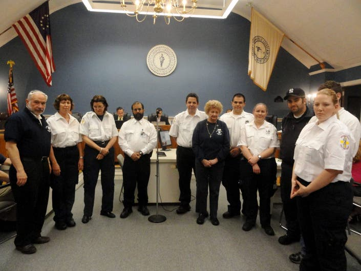Springfield Honor First Aid Squad Members | Springfield ...