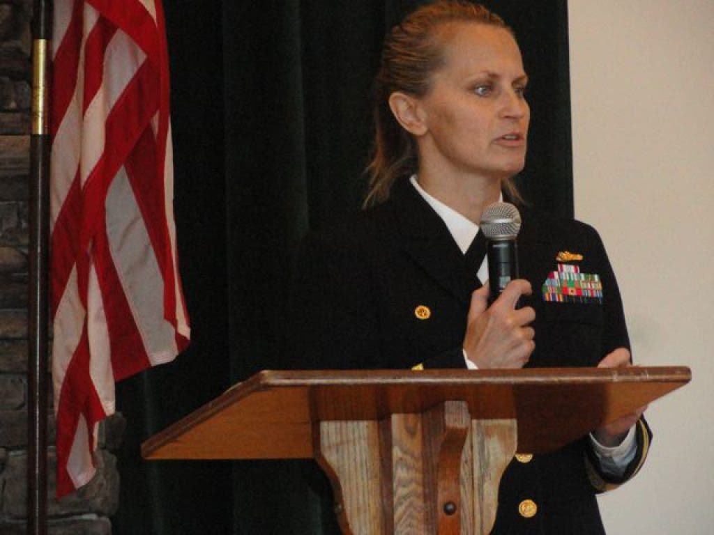 Navy Commanding Officer Speaks To Groton Students Groton