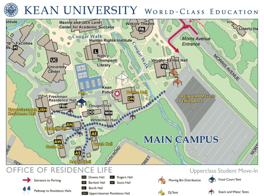 Graphic Design Teacher & Artist Steve Sney Has Show Opening at ... on kean university nj map, kean university library map, missouri state university campus parking, kean university athletics,