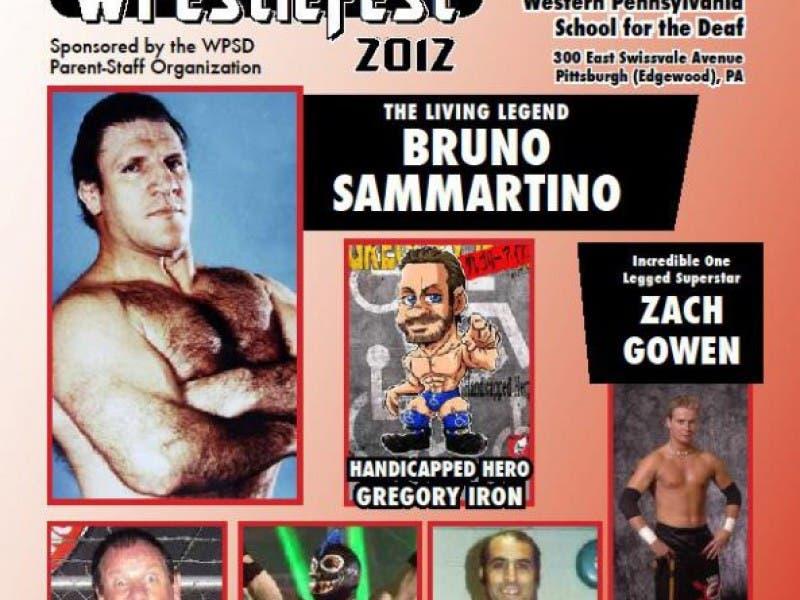 Legend Bruno Sammartino Headlines 'Deaf Wrestlefest'   Forest Hills