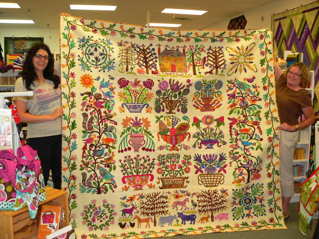 Fenton S The Quilters Garden Offers Quality Fabric Fenton Mi Patch