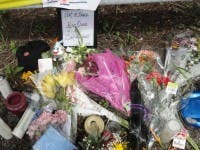 Mourners Gather At The Scene Of The Ryan Dunn Crash West Chester