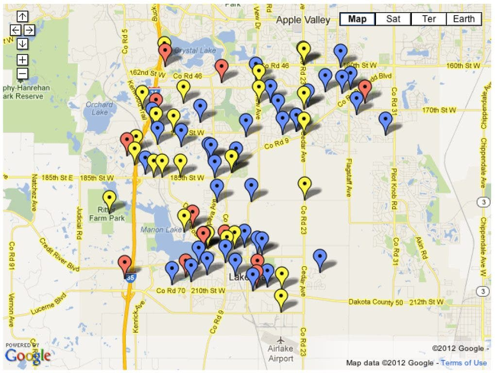 MAP: Lakeville Police Incidents for May 18-24 | Lakeville, MN Patch