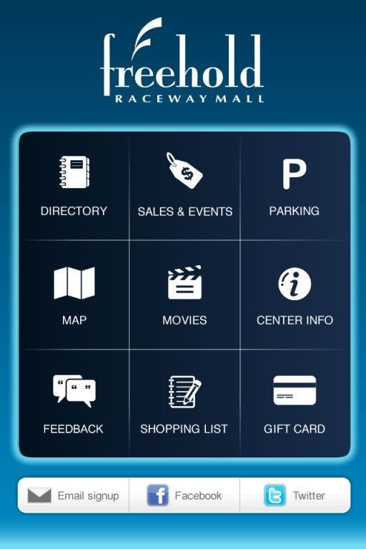 Freehold Raceway Mall: There's an App for That! | Freehold ... on real estate app, employment app, mall maps windows phone 8,
