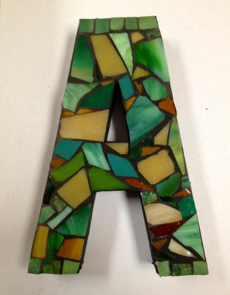 Mosaic Letters | Livermore, CA Patch