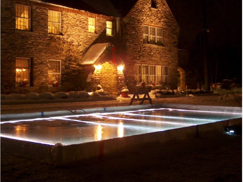 Backyard Ice Rink Lights tips for building a backyard ice rink | avon, ct patch