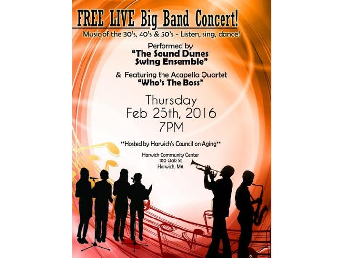 Big Band Music of the Sound Dunes Swing Ensemble | Barnstable, MA Patch