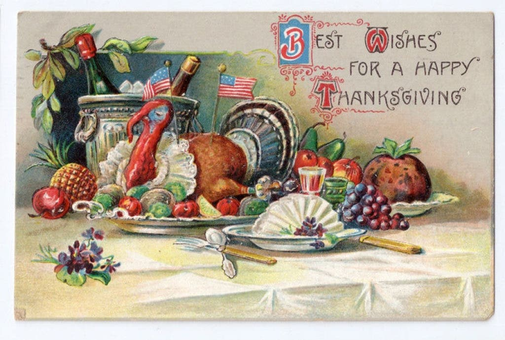 Vintage Postcards of Thanksgivings Past: 1900-1914   Durham, CT Patch
