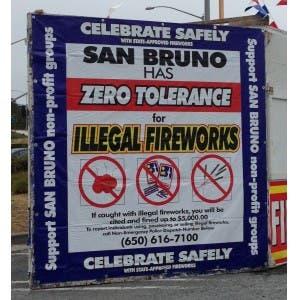 San Bruno CA: Keep the 4th of July SAFE - Legal Fireworks