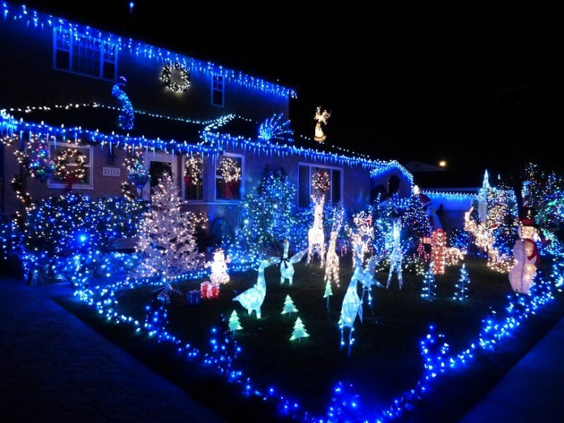December 29, 2014: Sleepy Hollow Christmas Lights - December 29, 2014: Sleepy Hollow Christmas Lights Redondo Beach