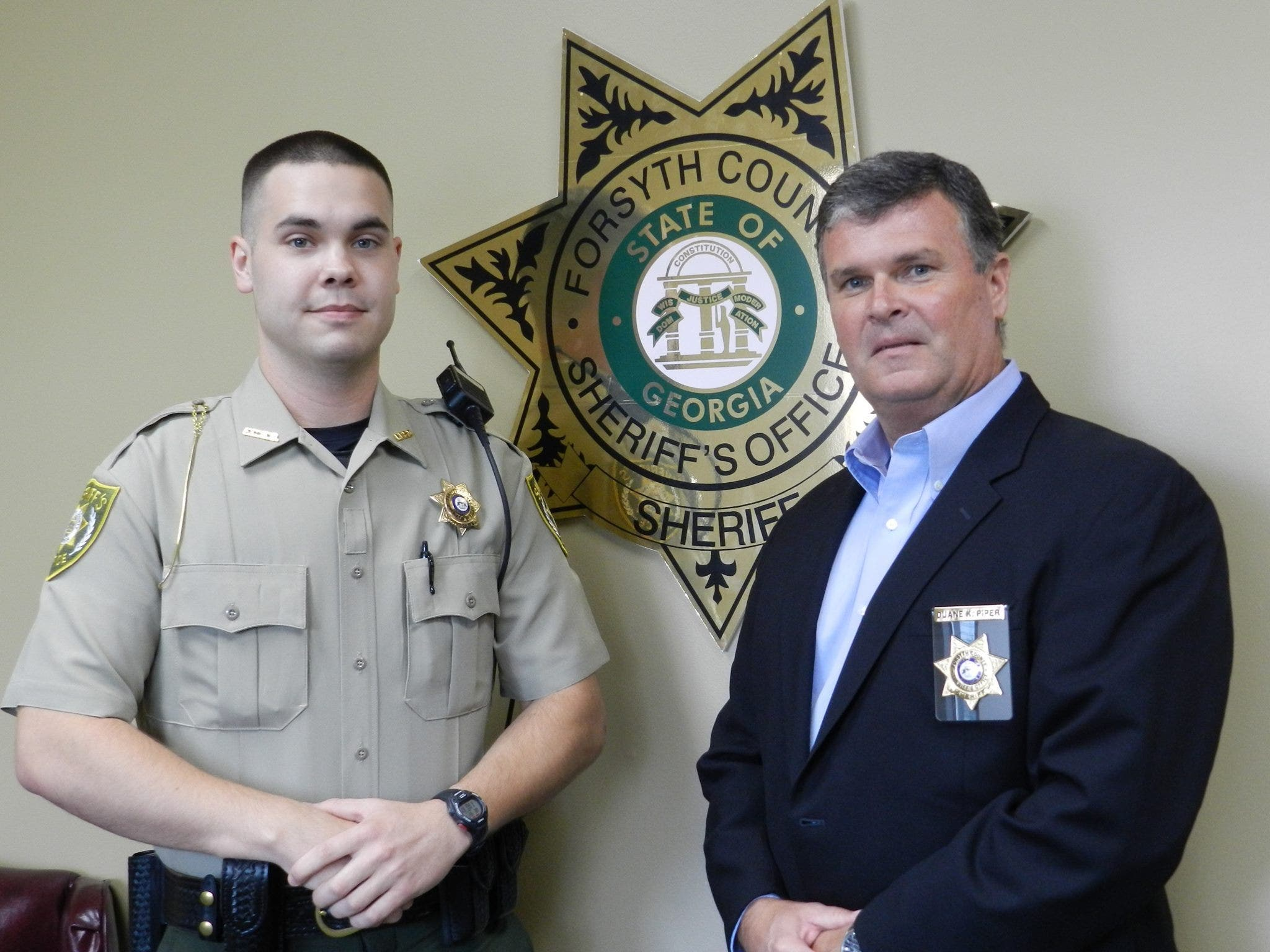 Forsyth County Sheriff's Office Welcomes New Deputy   Cumming, GA Patch