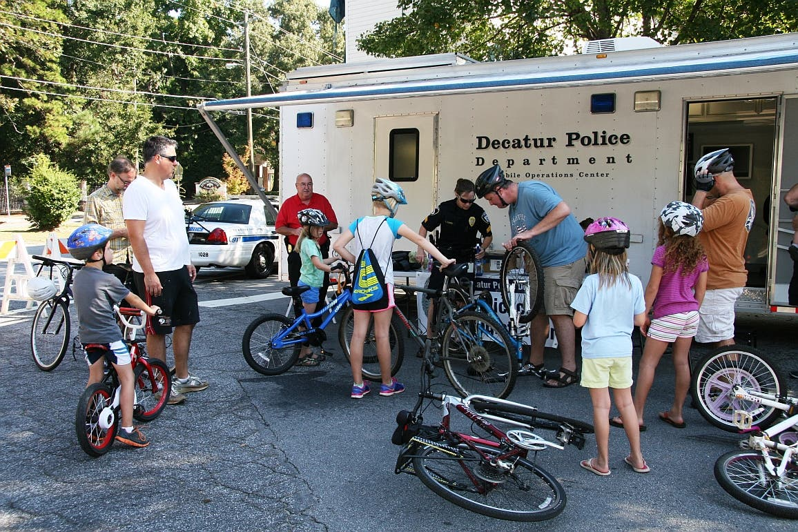 Decatur Police Offer Free Bicycle Registration   Decatur, GA Patch