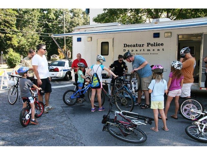 Decatur Police to Offer Bike Registration Friday   Decatur, GA Patch