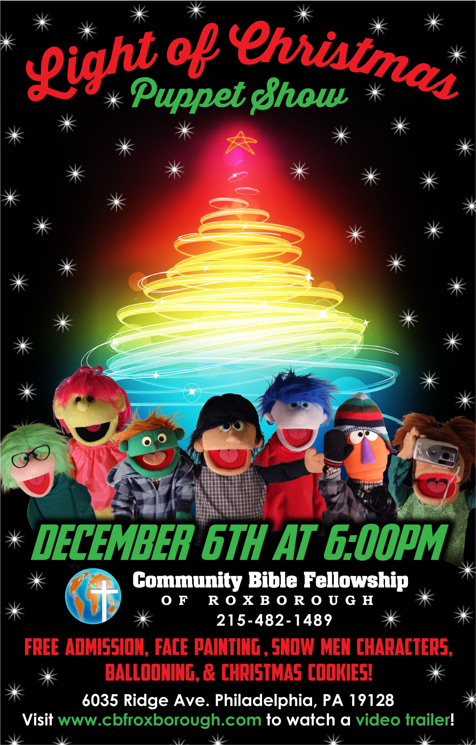 Light Of Christmas.Light Of Christmas Puppet Show To Be Held Saturday
