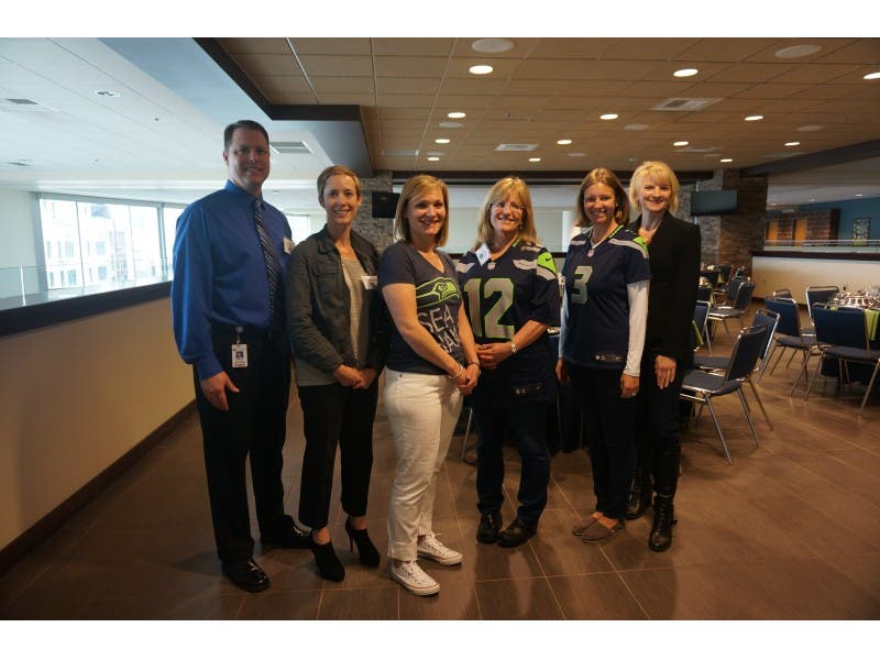 Two Issaquah School District Teachers Honored By Symetra Seahawks