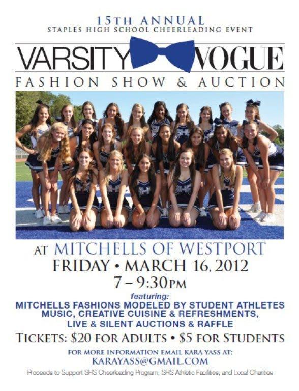 Staples Cheerleading Varsity Vogue | Westport, CT Patch