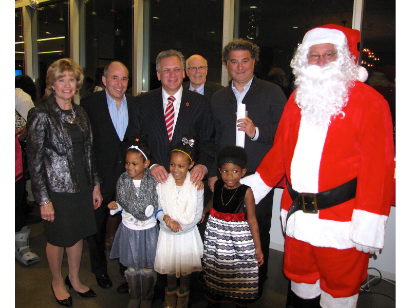 The Hain Celestial Group, Inc  and 1111 Marcus Hosted a Tree and