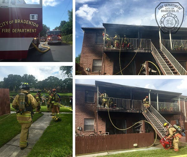 Bradenton Apartment Fire Leaves 9 Displaced