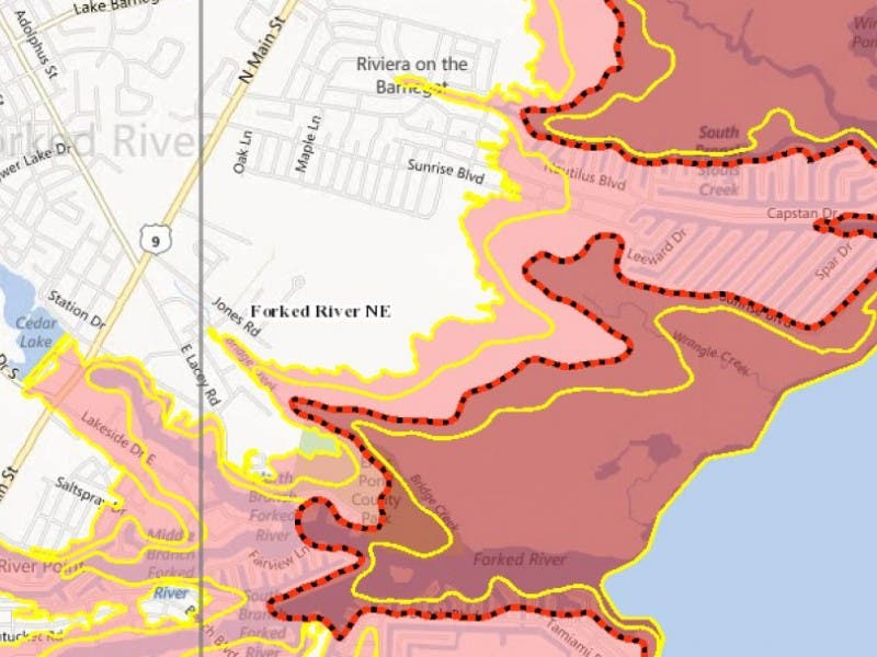 Input Your Address To Find FEMA Base Flood Elevation | Lacey, NJ Patch