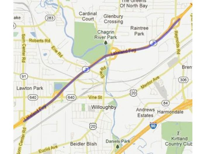 More Construction To Begin On Route 2 Today | Mentor, OH Patch