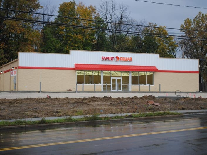 Snapshot: Family Dollar Almost Finished | Kent, OH Patch