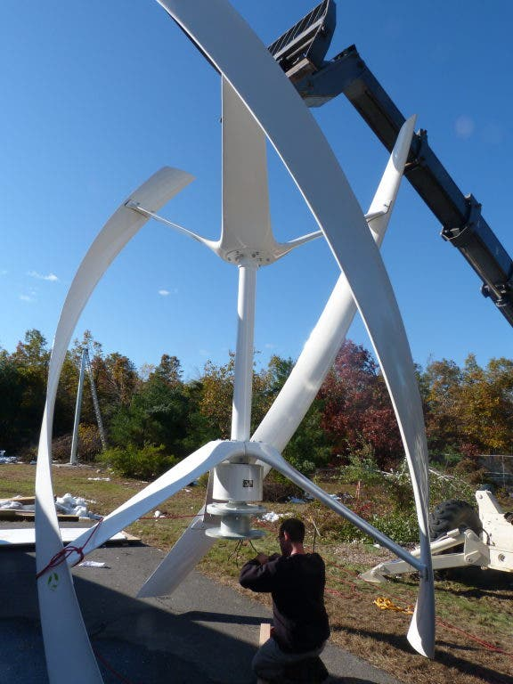 Norwalk Firm Installs Wind Turbine at Private Residence in