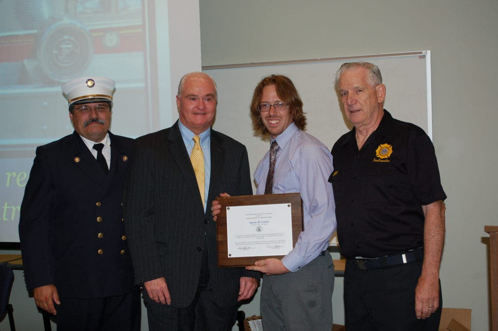 East Brunswick Firefighter Graduates Fire Academy with