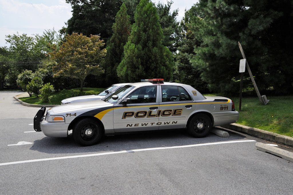 Police Cars For Sale >> Newtown Police 980 Calls In October 2 Police Cars Up For