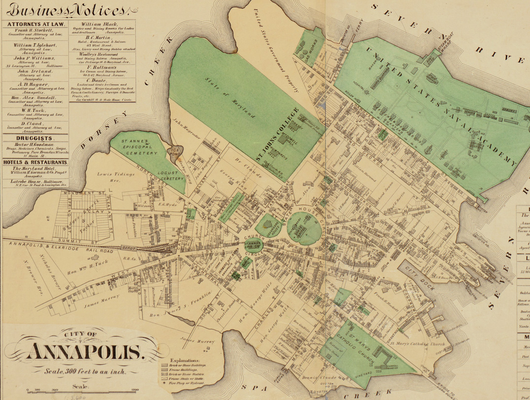 Get a Glimpse of Old Annapolis With This 19th Century Map ... Map Of Annapolis on map of whitaker, map of joppatowne, map of prince george's, map of cobb island, map of riva, map of monocacy national battlefield, map of glen echo, map of mount vernon area, map of colonial heights, map of charleston, map of st. mary's city, map of lanham, map of locust point, map of millers island, map of black point, map of cumberland valley, map of ne washington, map of delmar, map of balitimore, map of east bremerton,