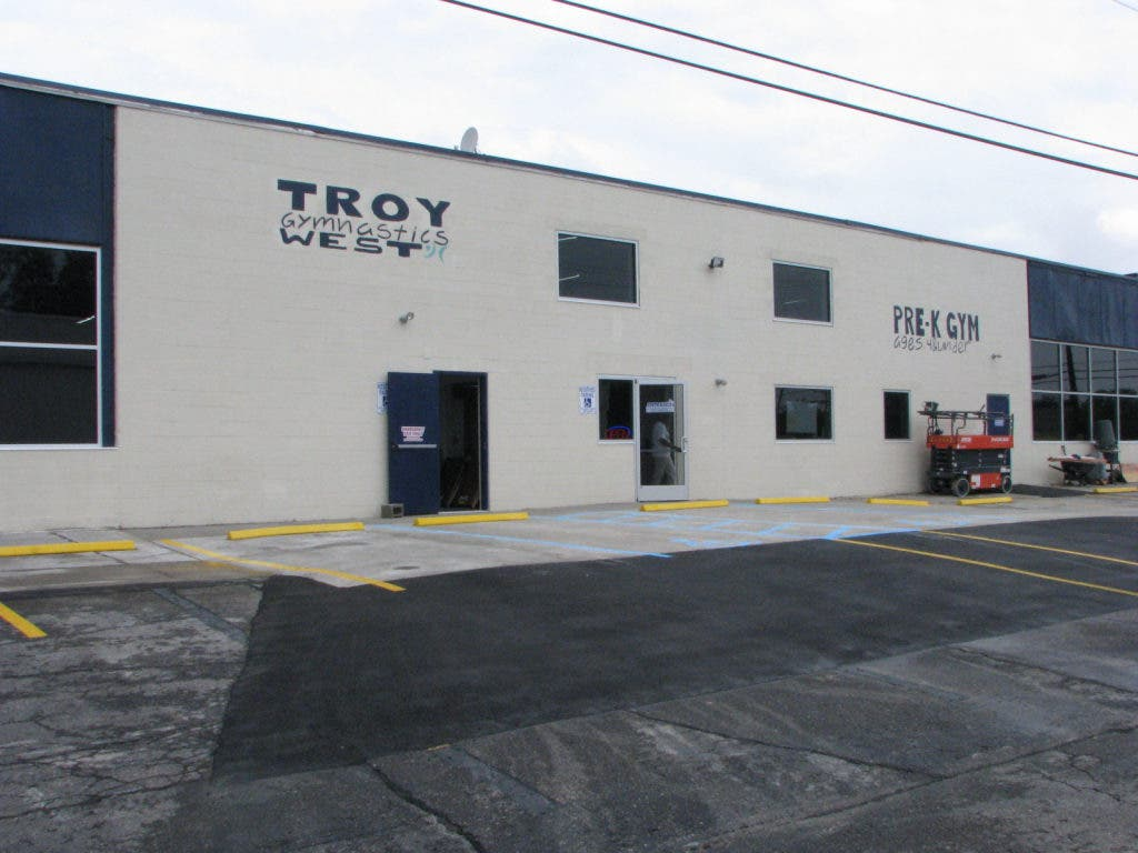 From garage to gym troy gymnastics officially opens new facility