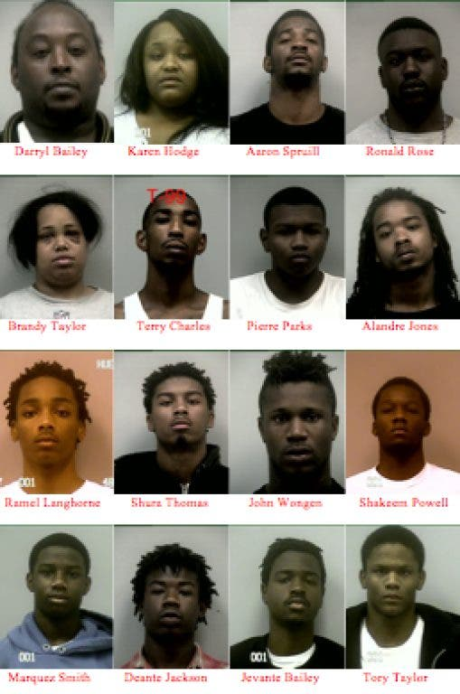 Gang Sweep in Gwinnett Lands 49 Behind Bars   Duluth, GA Patch