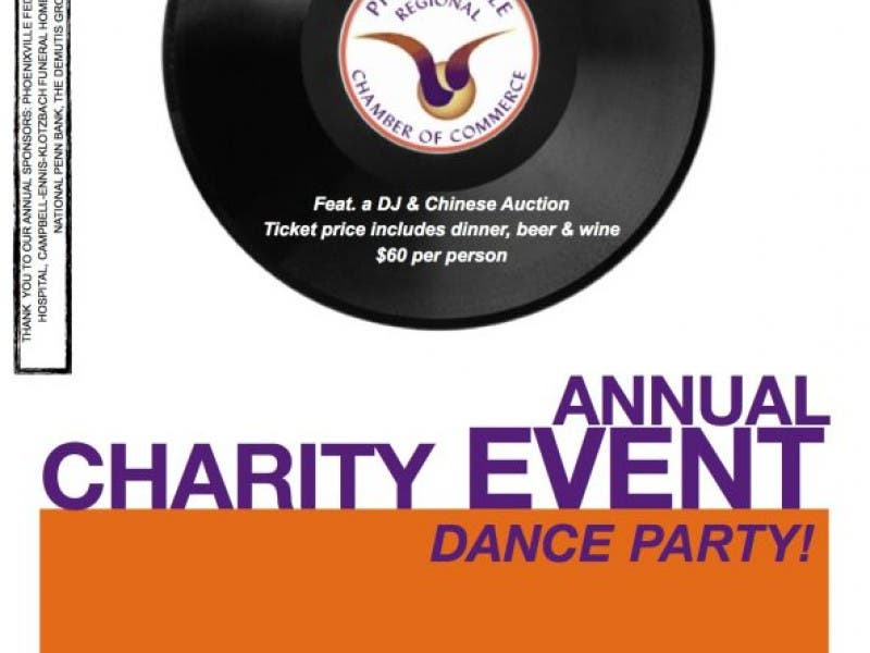 phoenixville chamber hosts annual charity event dance party