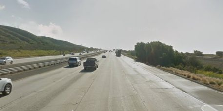 Bizarre Fatal Crash: Car Falls Off I-5 in Front of Oncoming Train