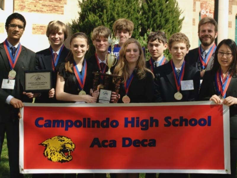 campolindo wins most improved school award at statewide academic