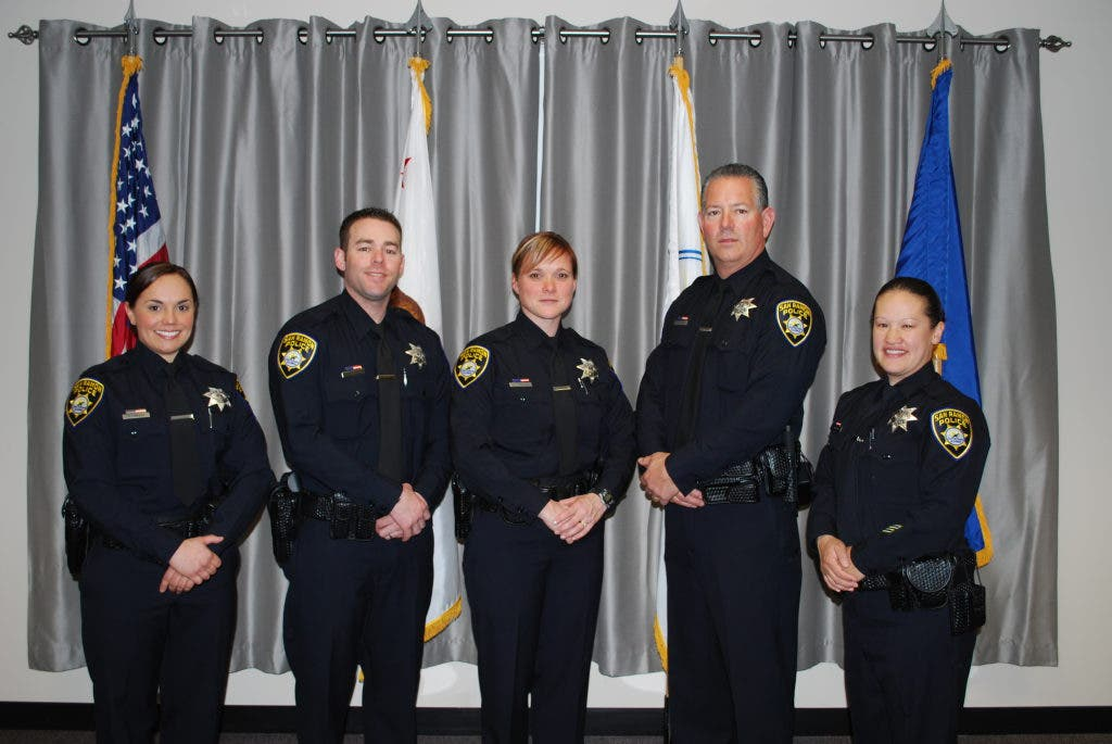 San Ramon Police Department Welcomes Five New Officers