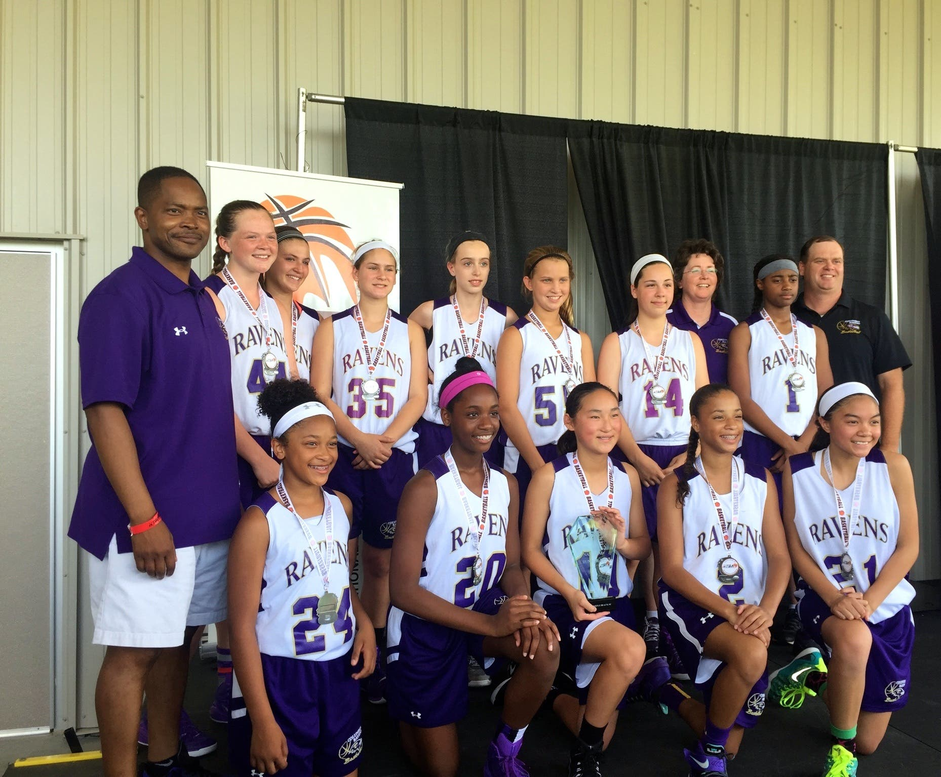 1a1c8bc0 Columbia Ravens NTBA National Basketball Tournament Runner Up ...
