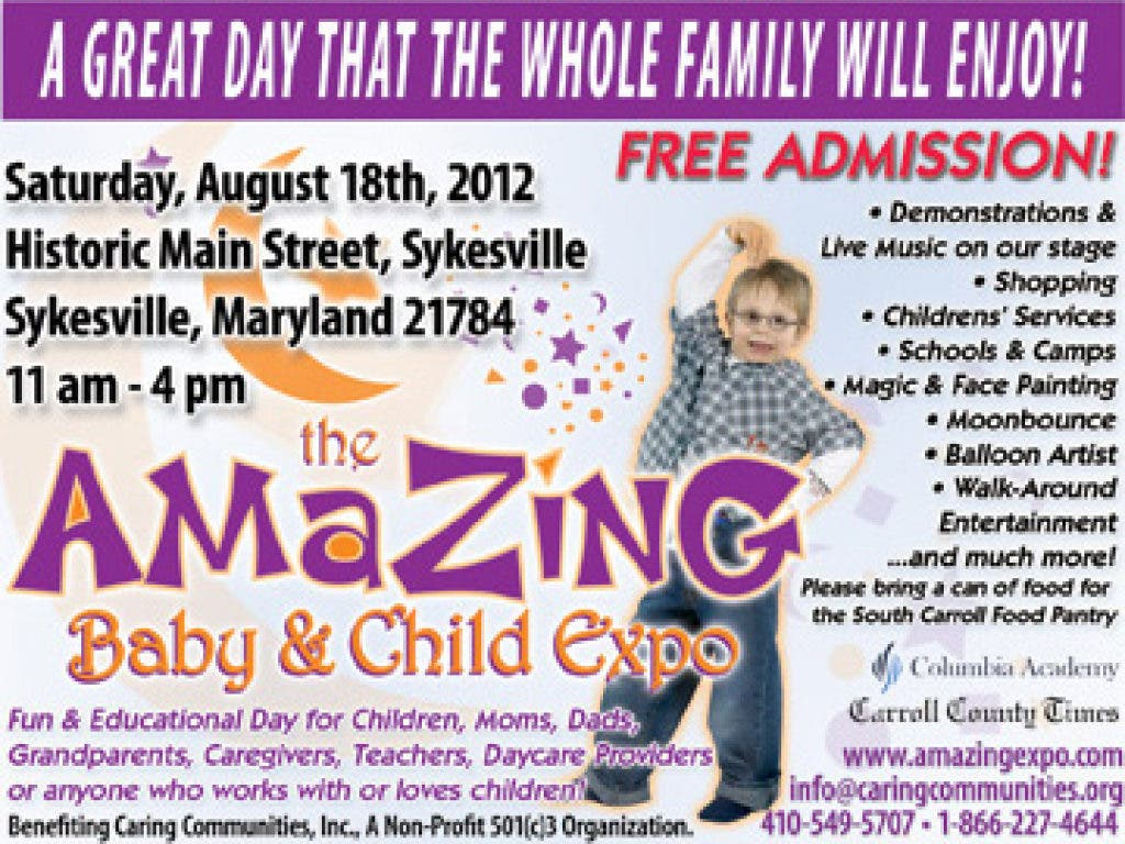 Caring About Our Neighbors As Expected >> Amazing Baby And Child Expo 3 5000 Expected Eldersburg Md Patch