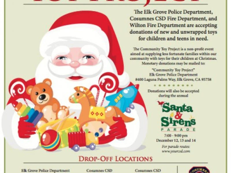 Our Local Police Fire Departments Are Collecting Toys For Kids