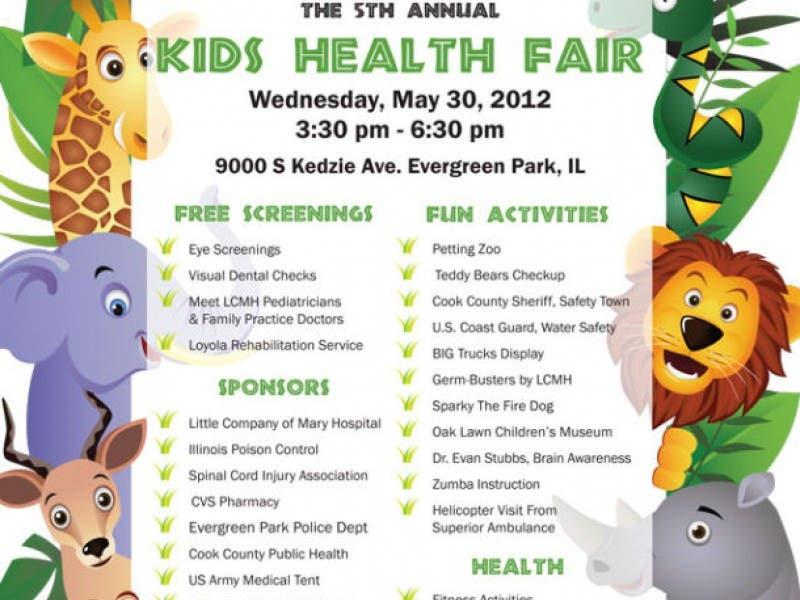 5th Annual Kids Fair Evergreen Park Il Patch