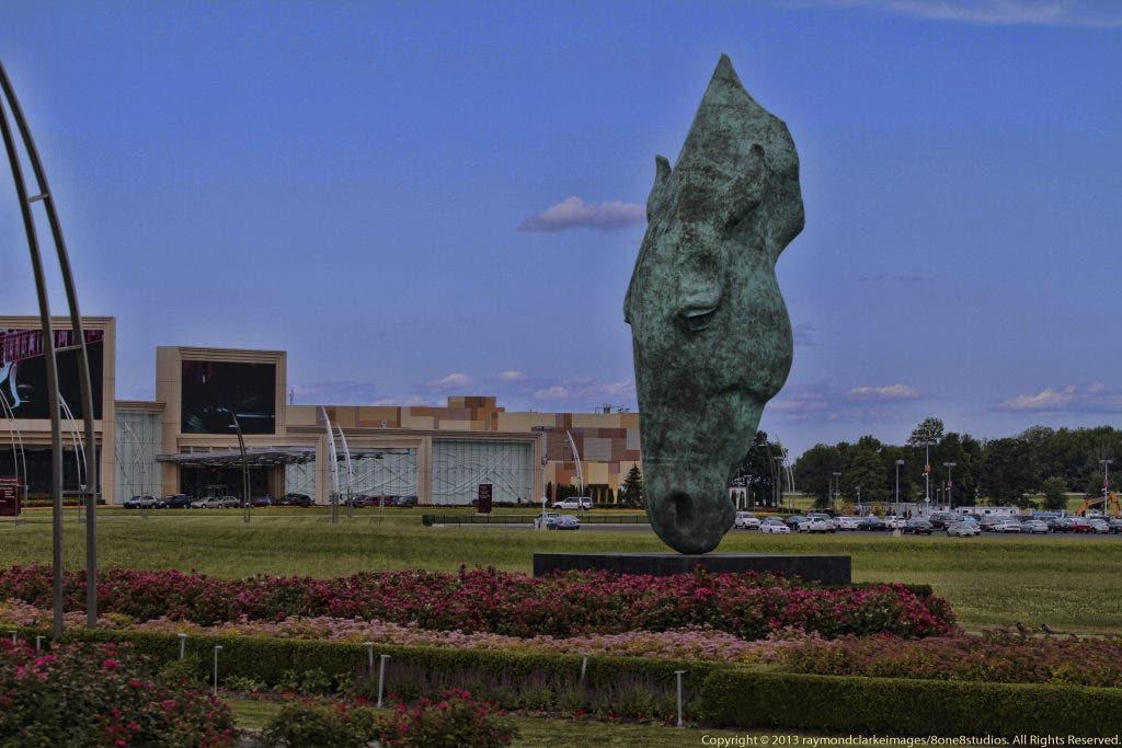 Bronze Horse Sculpture Unveiled at Parx | Bensalem, PA Patch