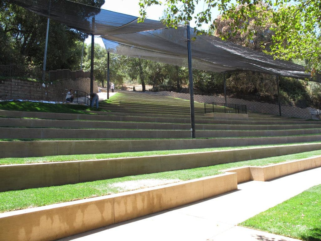 Christmas Hill Park.New Park Amphitheater Is Made In The Shade Gilroy Ca Patch