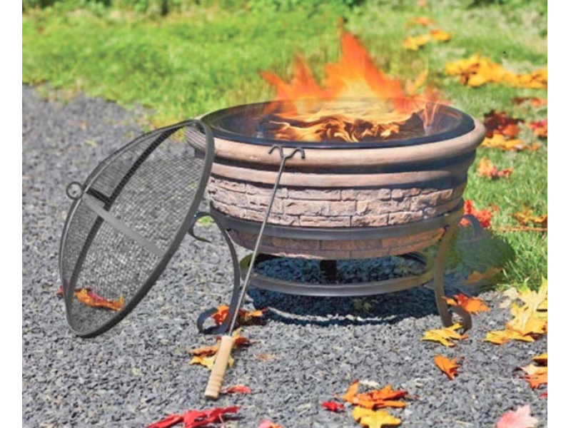Outdoor Fireplaces Sold at Christmas Tree Shop Recalled