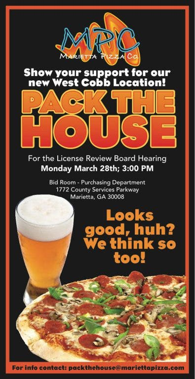 new products 3301f 0dcb1 3  County Board OKs Alcohol License for Marietta Pizza Co.