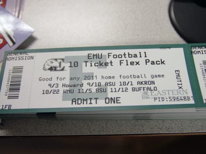 Free Tickets Available For Students To >> Free Emu Football Tickets Available At Saline Community Education
