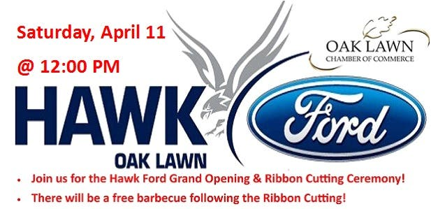 Hawk Ford Grand Opening Ribbon Cutting Ceremony Oak Lawn Il Patch