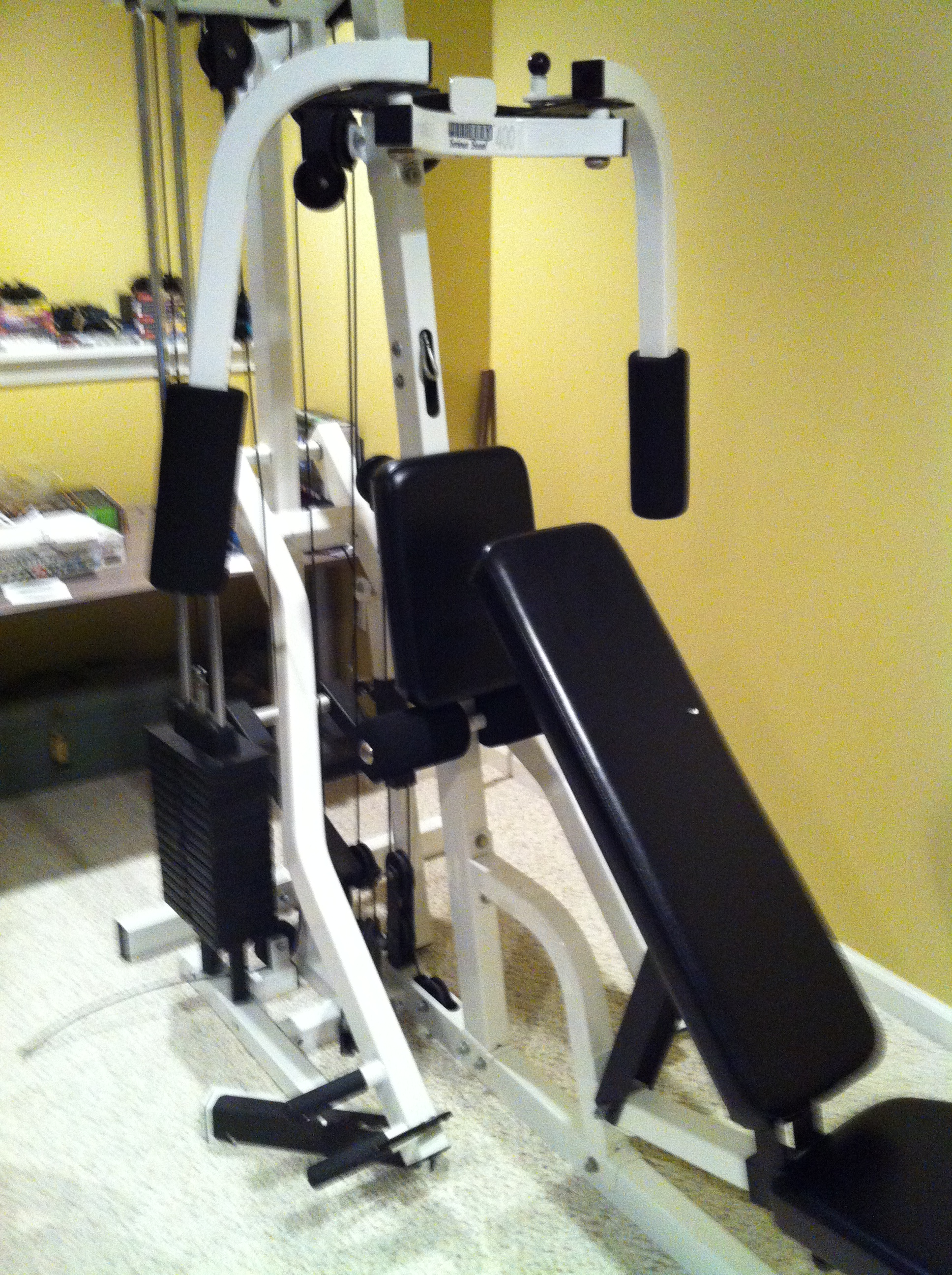 Parabody 400 home gym $100.00 on columbus day canton ct patch