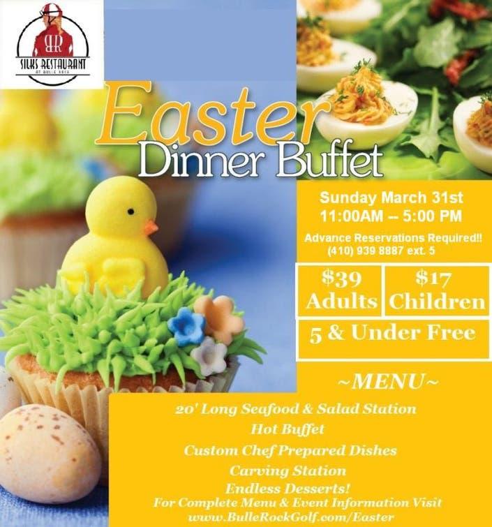 Easter Sunday Brunch & Dinner Buffet