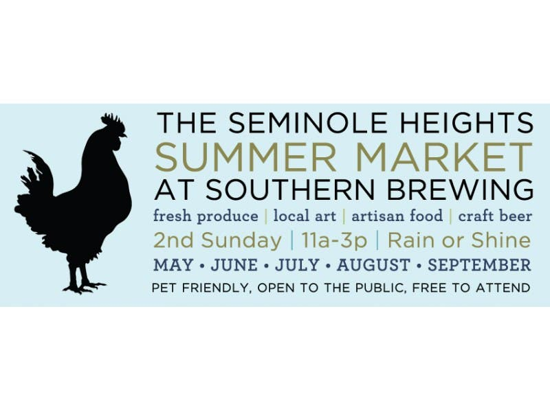 The Seminole Heights Summer Market At Southern Is Back Seminole